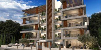 Новые апартаменты в Пафосе № 8К