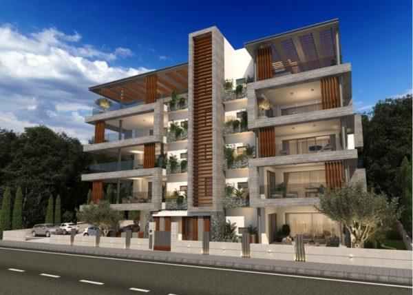 Новые апартаменты в центре Пафоса