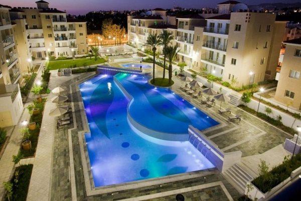 Апартамент в Elysia Park Пафоса